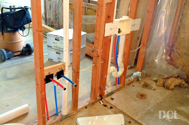 Plumbing rough in discover create live Bathroom toilet installation