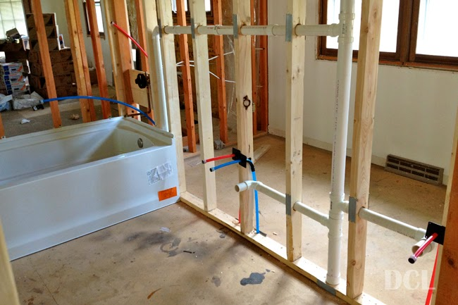 Plumbing rough in discover create live for New construction plumbing rough in
