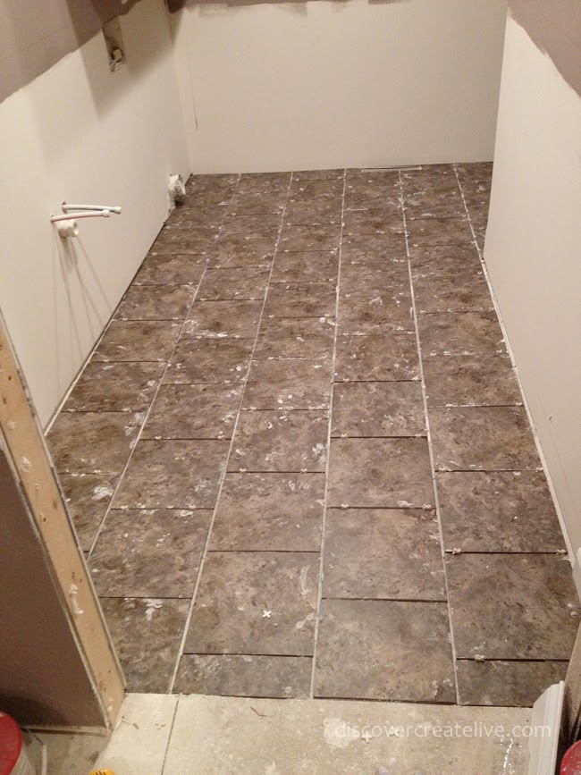Time For Tile Durock Prep Installation And Grout