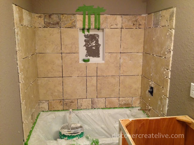 Time for Tile: Durock Prep, Installation, and Grout   Discover ...